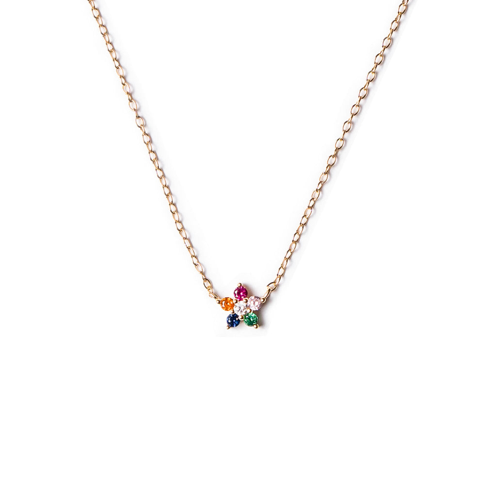 Collar Flor Multicolor