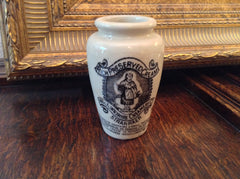 Antique Wigtownshire Co. Stoneware Cream Pot, English