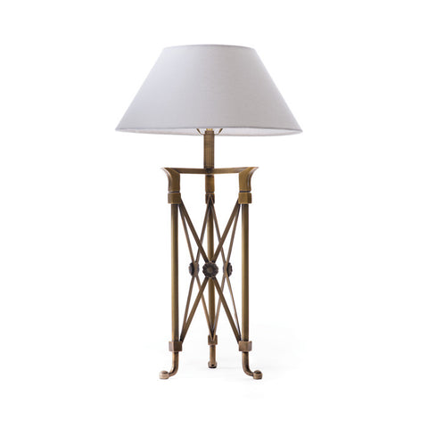 Brass Directoire Table or Desk Lamp