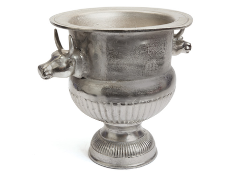 Polished Nickel Ice Bucket