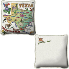 Woven State Pillow - Texas