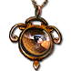 Buy POE | Daresso's Salute, Citrine Amulet at We Grind Games