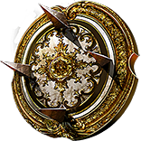Buy POE | Glitterdisc, Burnished Spiked Shield at We Grind Games