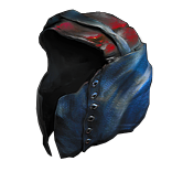 Buy POE | Frostferno, Leather Hood (Available by Request) at We Grind Games