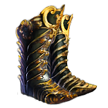 Buy POE | Lioneye's Paws, Bronzescale Boots at We Grind Games