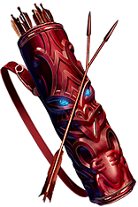 Buy POE | Skirmish, Two-Point Arrow Quiver at We Grind Games