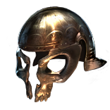 Buy POE | Skullhead, Secutor Helm at We Grind Games