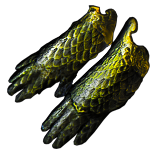 Buy POE | Slitherpinch, Bronzescale Gauntlets at We Grind Games