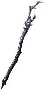 Buy POE | The Whispering Ice, Vile Staff at We Grind Games