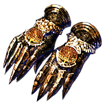 Buy POE | Vaal Caress, Bronzescale Gauntlets at We Grind Games