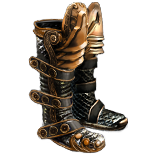 Buy POE | Wake of Destruction, Mesh Boots at We Grind Games