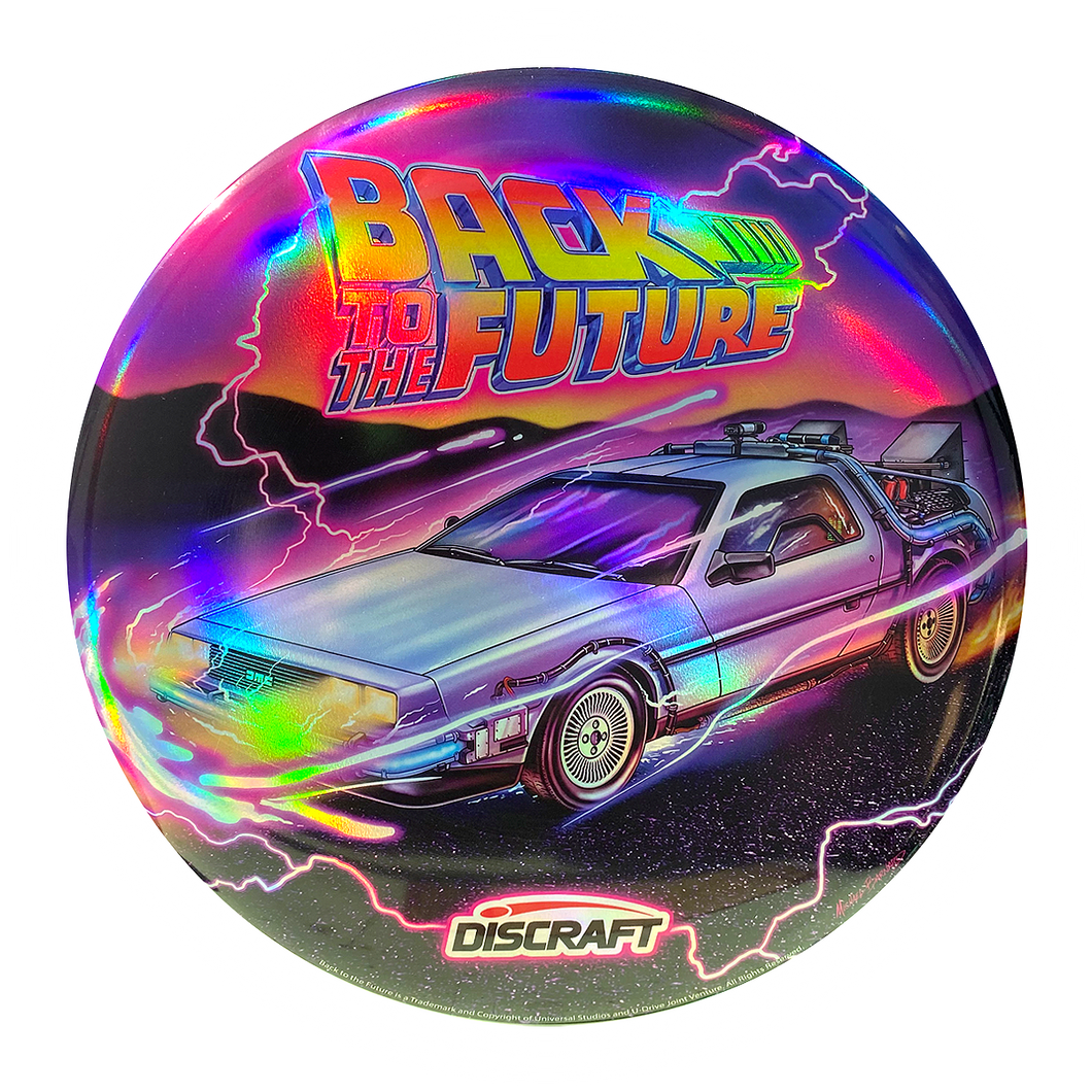 Back to the Future Holographic Frisbee - 88MPH