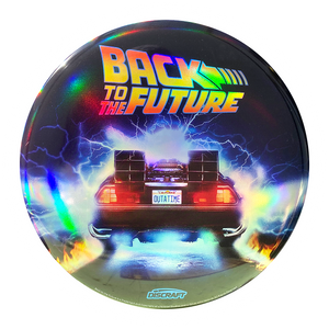 Back to the Future Holographic Frisbee - Burnout