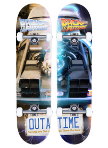 Madrid X Back to the Future - OUTATIME Split Series 8.25""