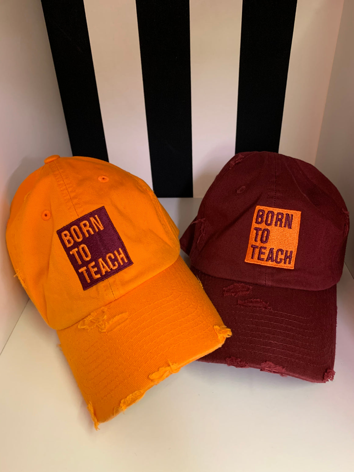 Born to Teach hat