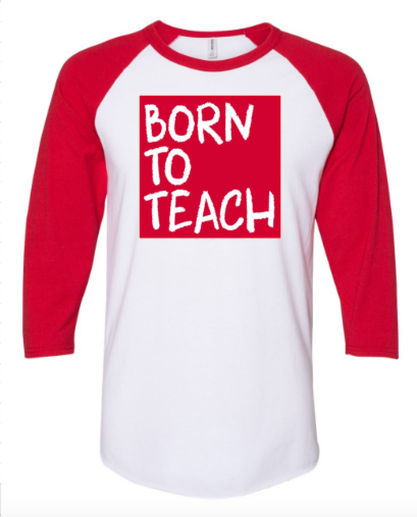 Cray Born to Teach (Red)