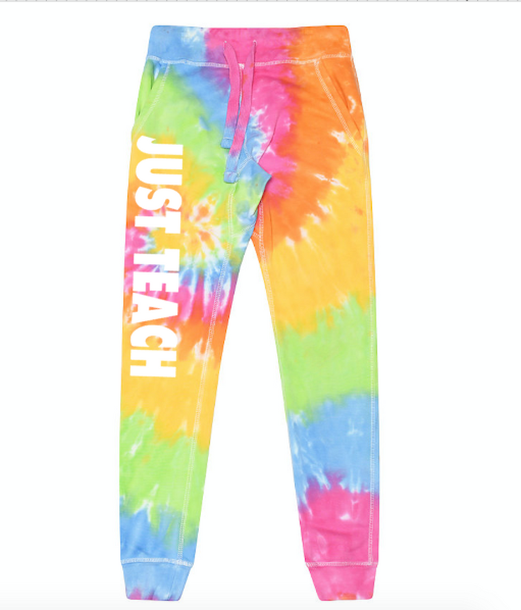 JUST TEACH (Tie Dye JOGGERS)