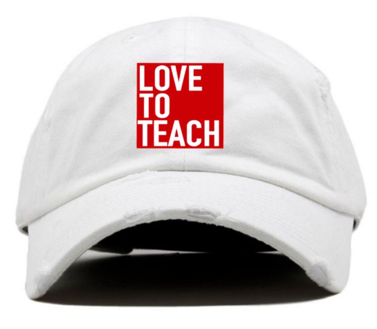 Love To Teach hat