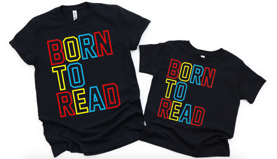 Born To Read (Youth sizes)