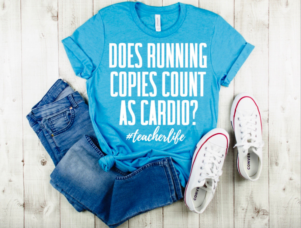 Does running copies count as CARDIO?