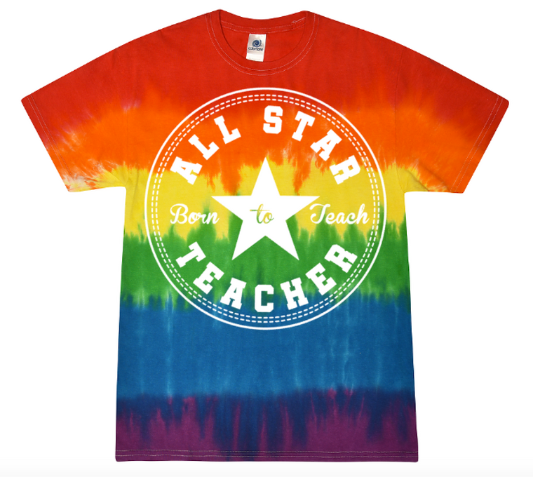 All Star Teacher (tie dye)