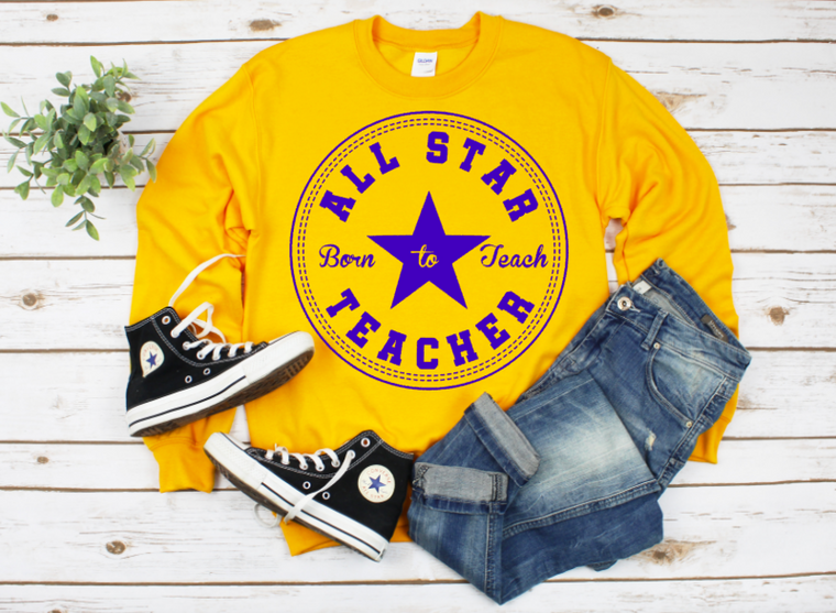 All Star Teacher sweatshirt