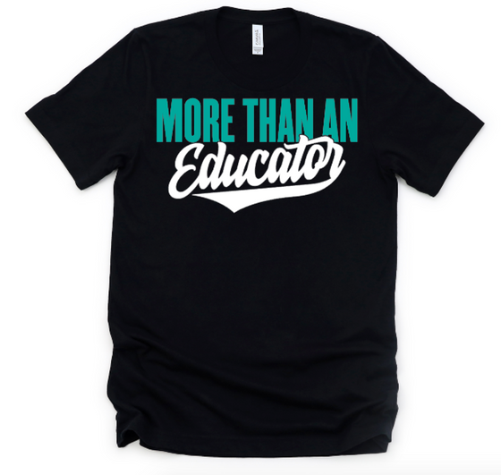 More than an educator (black)