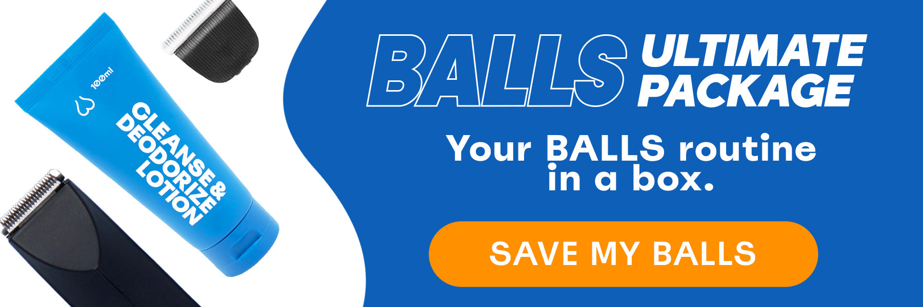 BALLS Ultimate package - Your BALLS Routine in a box