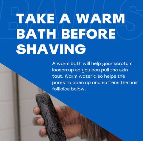 Take A Warm Shower Before Shaving