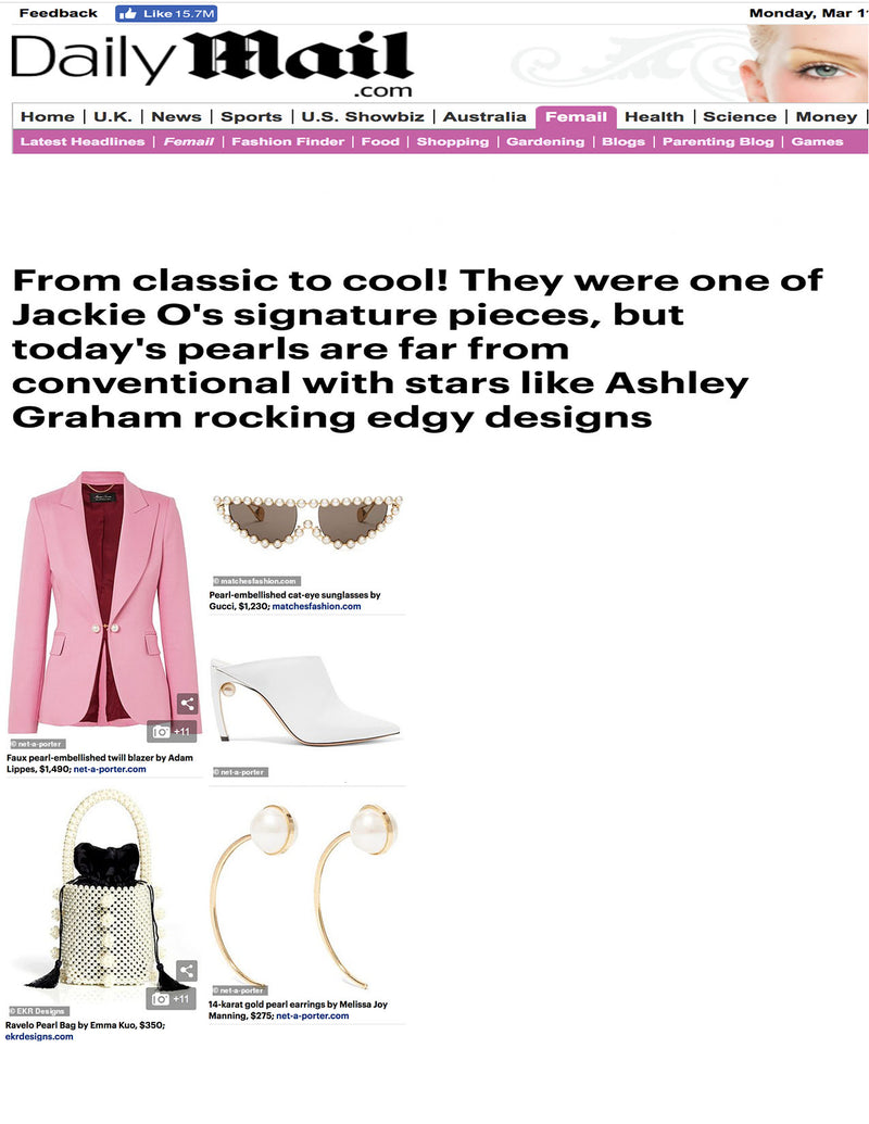 Daily Mail Features 'The Ravelo' Bag in New Article featuring Ashley Graham