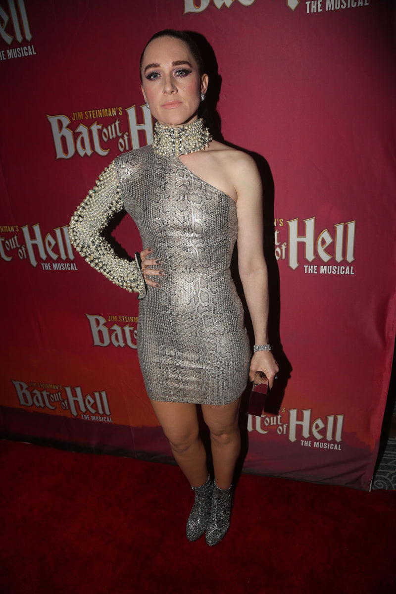 Lena Hall Carries the 'Dolobo Clutch' to Opening night of Bad Out Of Hell in NYC