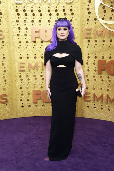 Kelly Osbourne Carries The 'La Cigale' Clutch to The 71st Emmy Awards in Los Angeles
