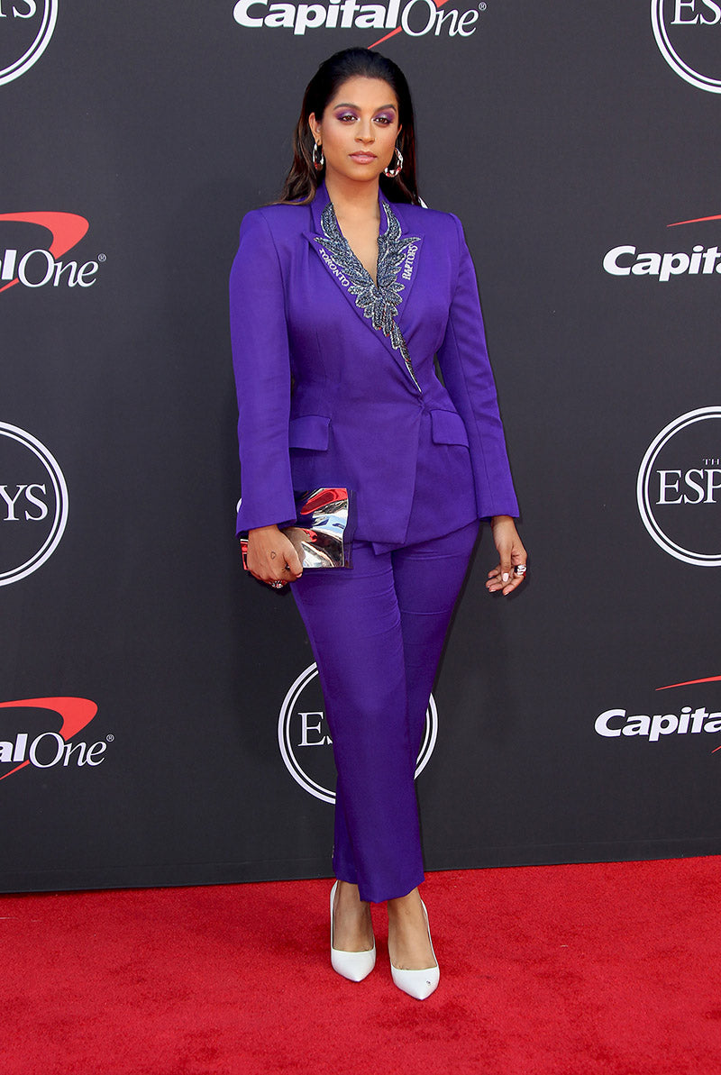Lilly Singh carries the 'Bond Street' to the 2019 ESPYS Awards in New York