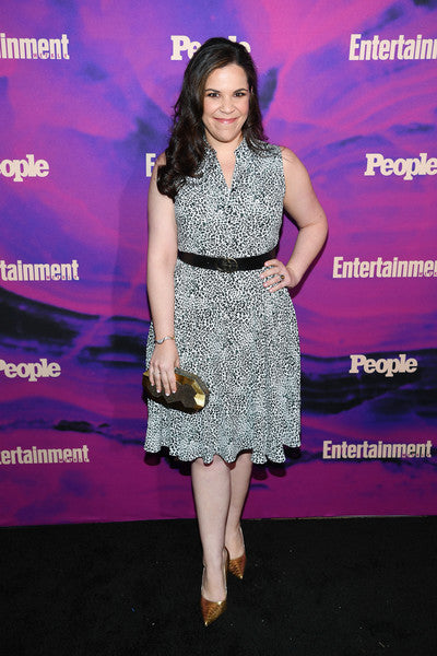 Lindsay Mendez Carries the 'Viera' Clutch to the Entertainment Weekly & PEOPLE New York Party