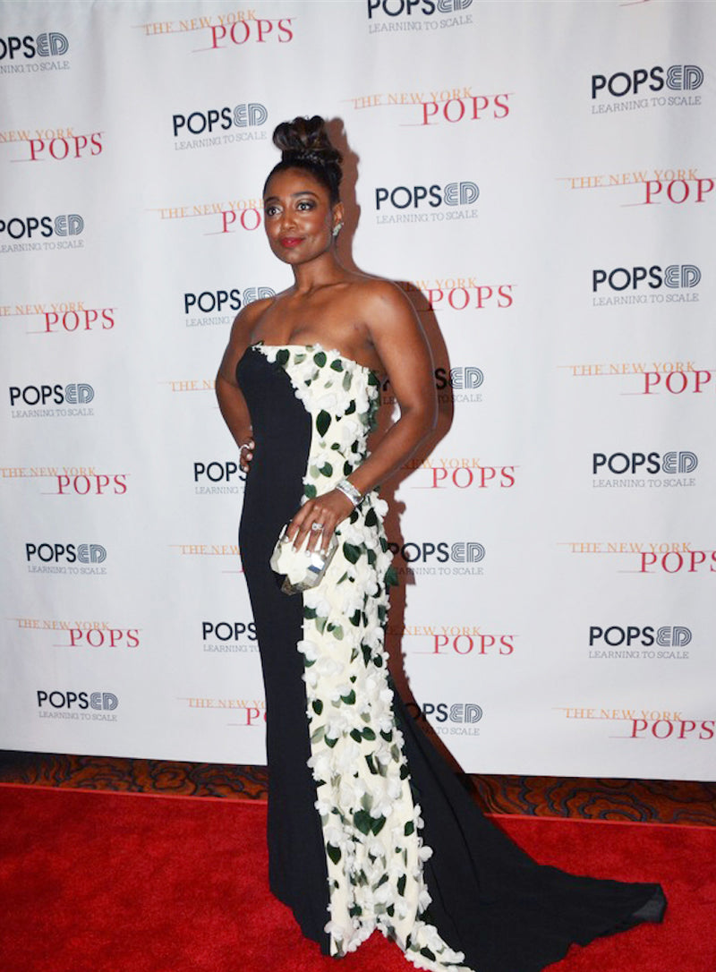 PATINA MILLER CARRIES THE VIERIA TO THE NEW YORK'S POPS 35TH BIRTHDAY GALA
