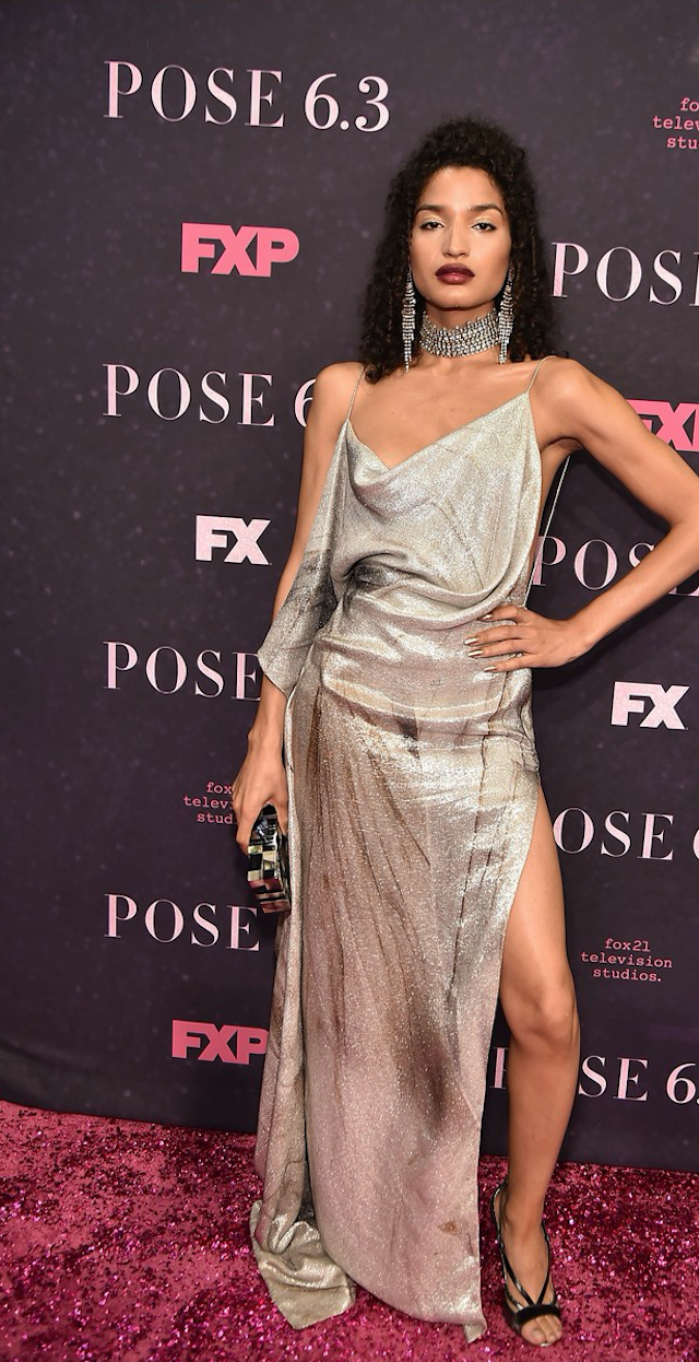 INDYA MOORE CARRIES THE 'GUGGENHEIM' TO THE FX TV POSE PREMIERE - MAY 17TH, 2018