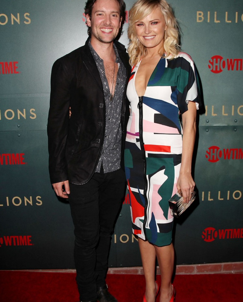 MALIN AKERMAN CARRIES THE 'DOLOBO' TO THE BILLIONS PREMIERE