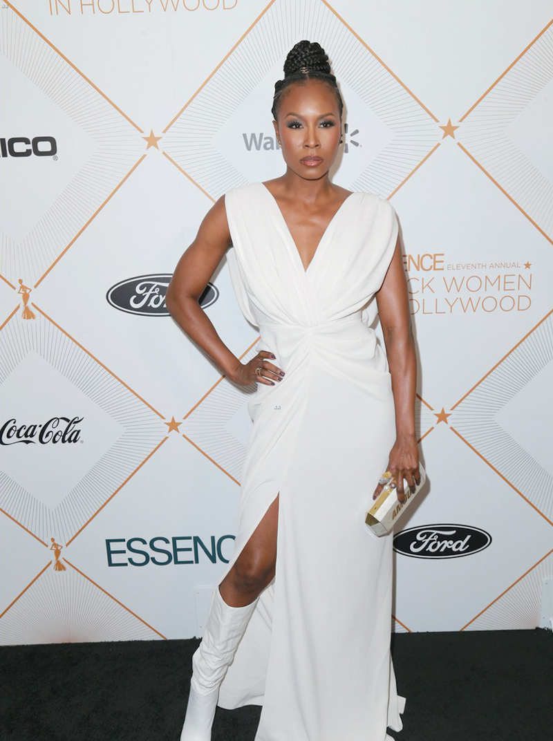 SYDELLE NOEL CARRIES THE 'AMOUR/LOVE' CLUTCH TO THE BLACK WOMEN IN HOLLYWOOD OSCARS LUNCHEON – FEBRUARY 28TH 2018