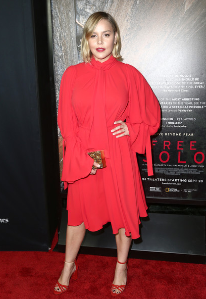 Abbie Cornish Carries the 'Wynwood' to the LA Screening of Free Solo