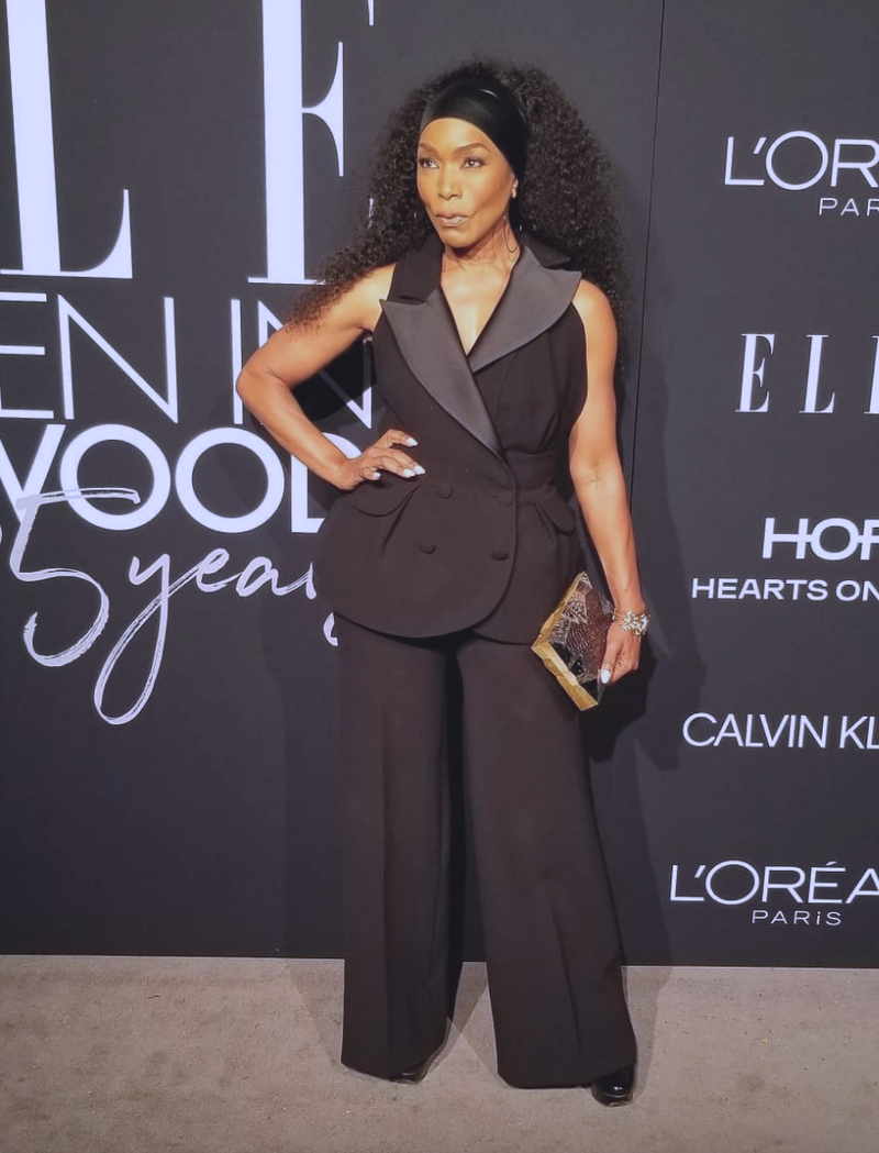 Angela Basset Carries the 'Abrolhos' to ELLE's Women in Hollywood Celebration