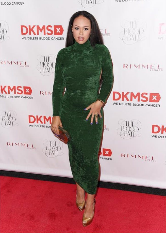 Elle Varner Carries the 'Viera' to the DKMS Blood Ball 2018