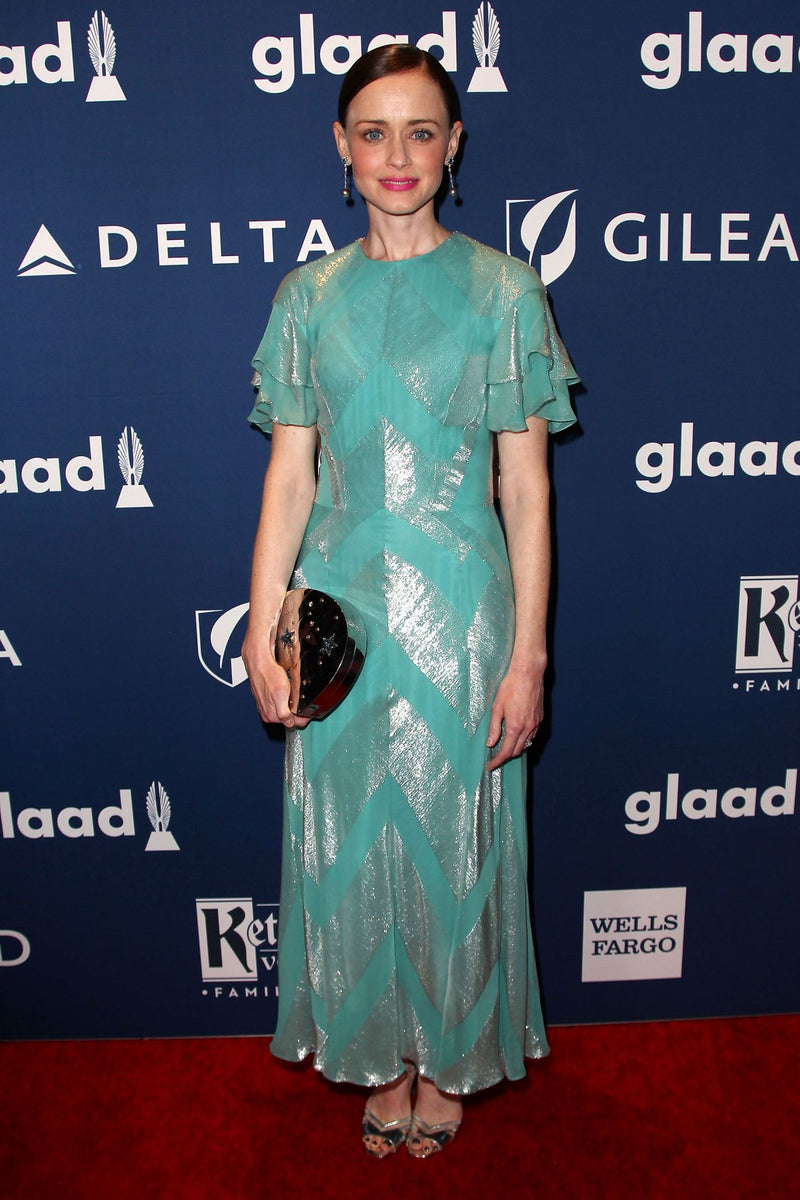 ALEXIS BLEDEL CARRIES THE 'GINZA' TO THE 2018 GLAAD MEDIA AWARDS – MAY 5TH, 2018
