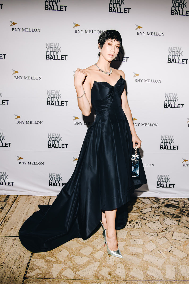 Georgina Pazcoguin Carries the 'Ludlow Clutch' to the NYC Ballet Fall Gala
