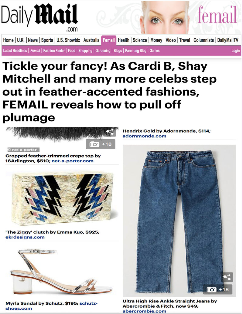 Daily Mail Features 'The Ziggy' in New Article Featuring Cardi B and Shay Mitchell