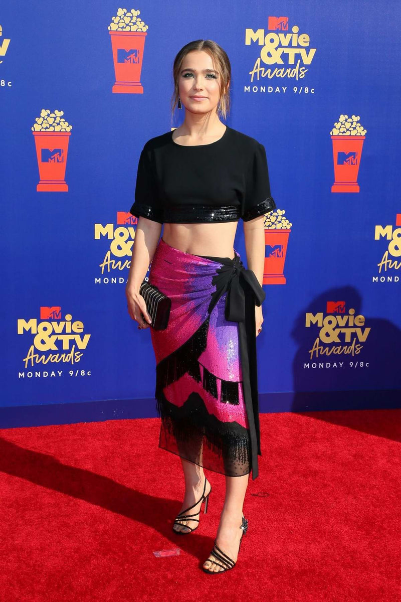 Hayley Lu carries 'The Rodeo' to the MTV Music and TV Awards in LA