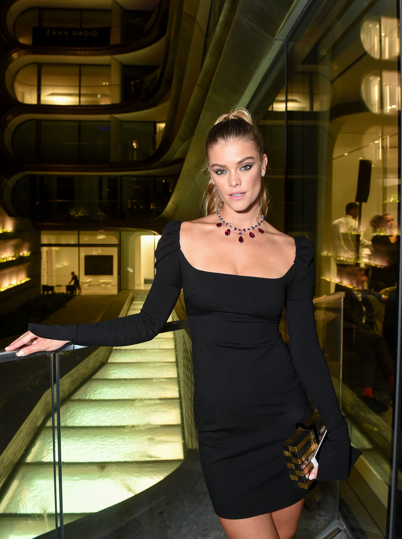 Nina Agdal Carries the 'Polanco' to the Naeem Khan X Chopard Dinner Party