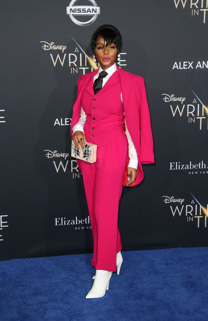 JANELLE MONAE CARRIES THE 'ZIGGY' TO THE A WRINKLE IN TIME PREMIERE – FEBRUARY 26TH 2018