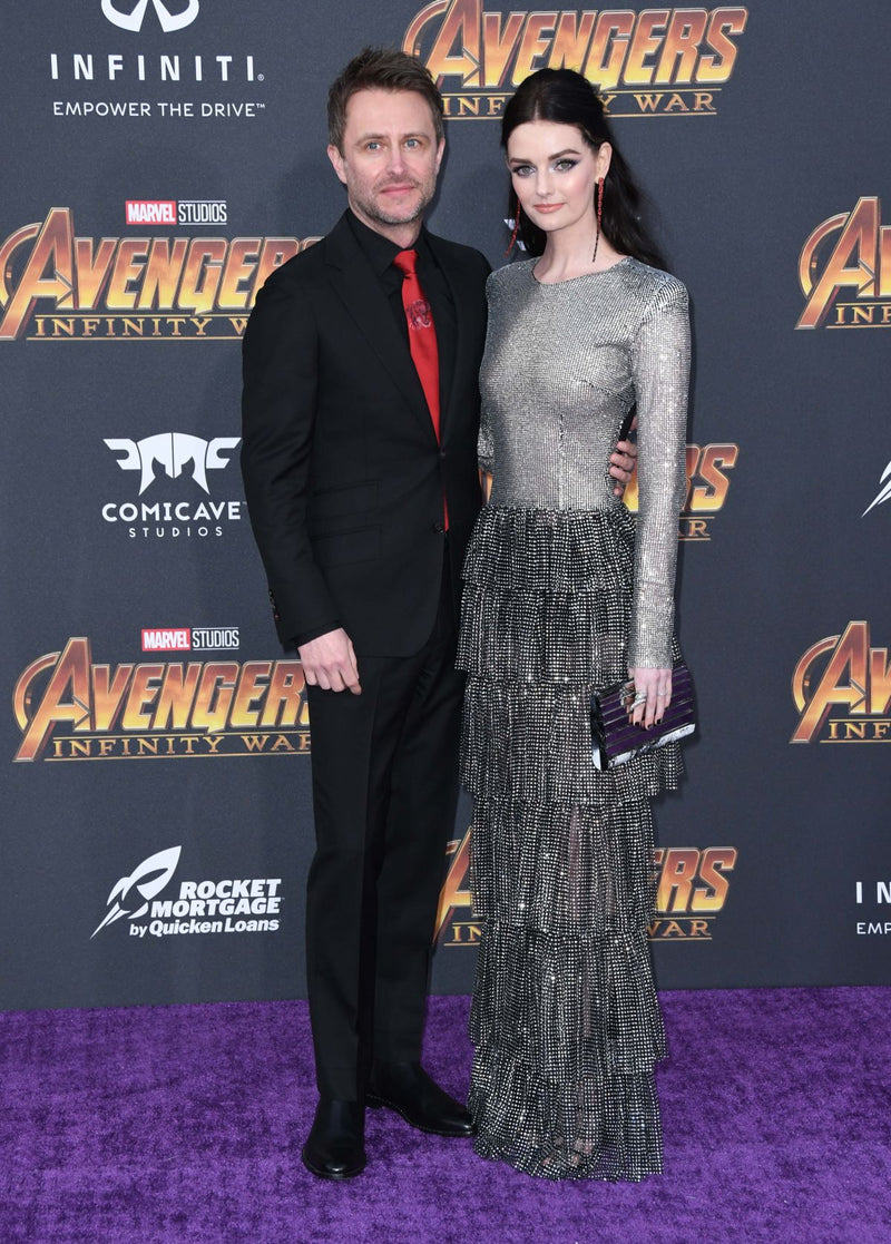 LYDIA HEARST CARRIES THE 'SHARD' TO THE LA PREMIERE OF AVENGER: INFINITY WAR – APRIL 23RD, 2018