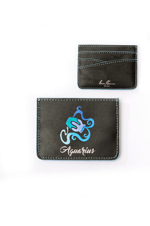 HOROSCOPE CARDHOLDER- AQUARIUS