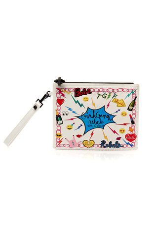 Paloma Pouch, Girl Gang- WHITE